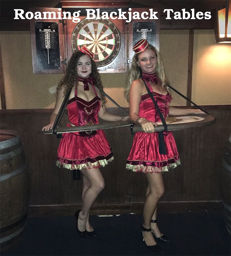 Roaming Blackjack Dealers